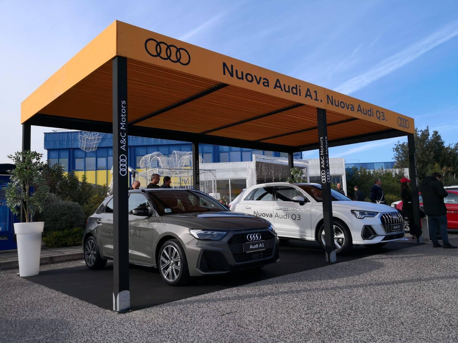 Gazebo Audi - Work in Progress